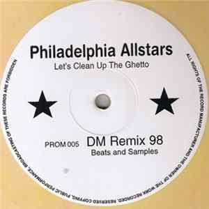 Album Philadelphia Allstars - Let's Clean Up The Ghetto